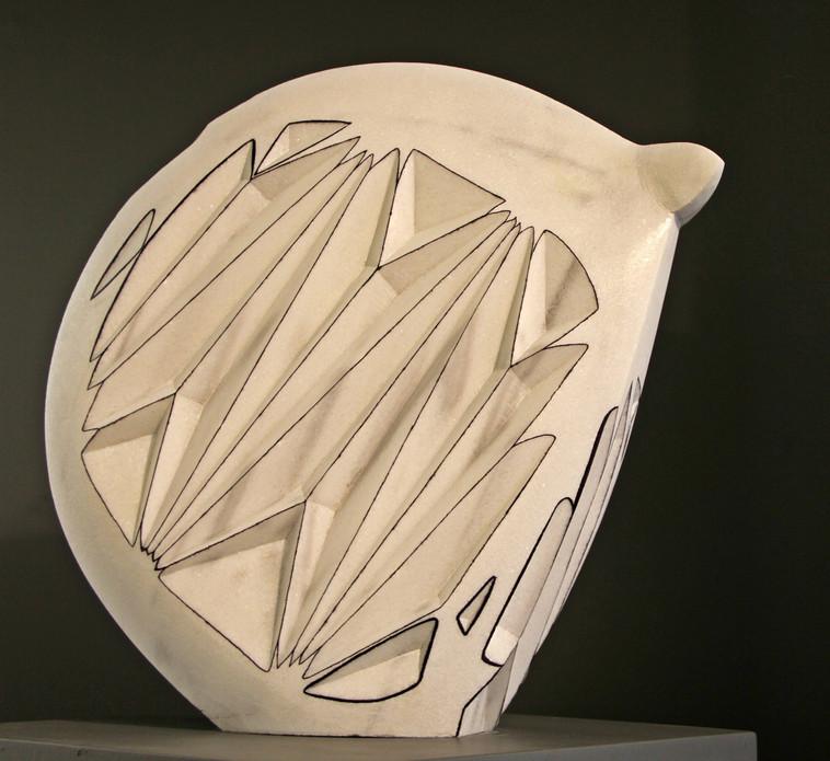 Star dust, 2013, Stone, 60 x 45 x 21 cm