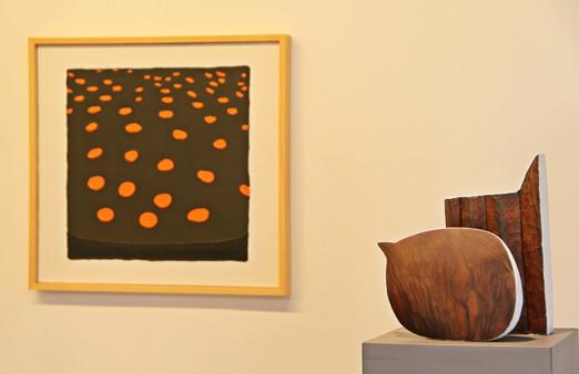 The winter's tale, 2010, Wood, acrylic, 40 x 20 x 12 cm