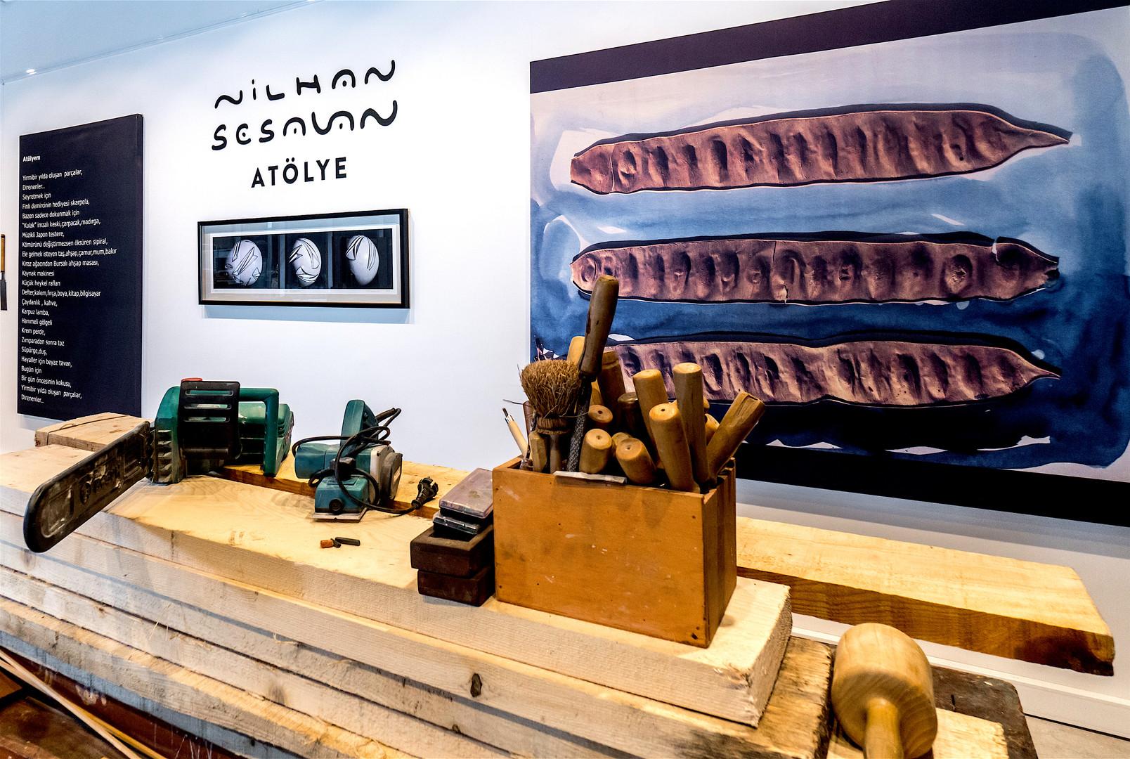 Atelier, Exhibition view, Uniq İstanbul