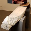 Soul Twins, 2009, Stone, bronze, 150 x 40 x 28 cm, different angle