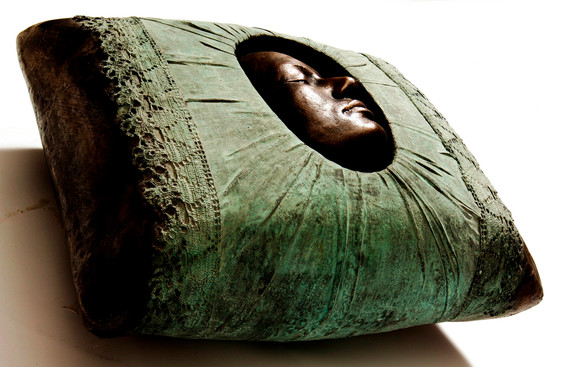 Deep Sleep, 2008, Bronze, 70 x 50 x 30 cm