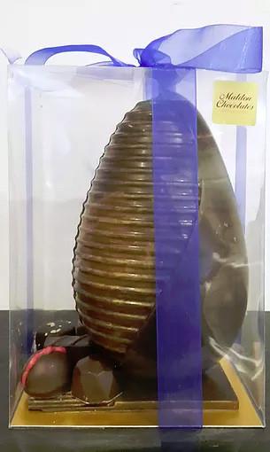 Maldon Chocolates Handmade Easter Egg #1