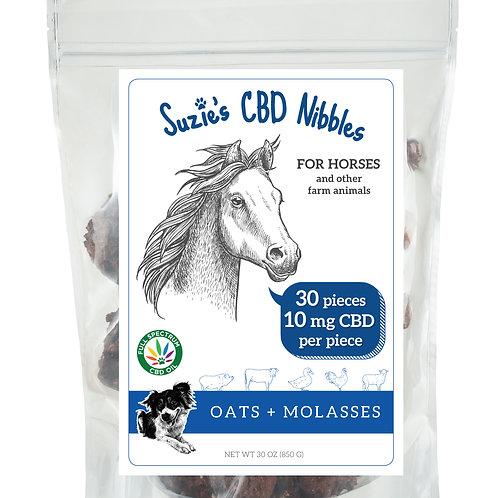 10 mg CBD Nibbles for Horses (30 count)