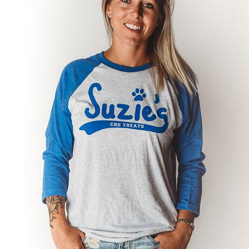 Suzie's Baseball Tee