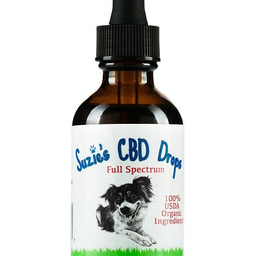 Suzie's 500 mg Dog Tincture