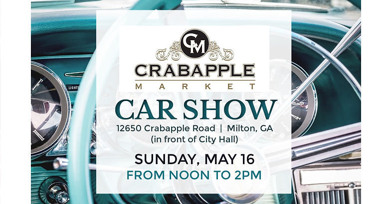 Crabapple Car Show Facebook Event Cover