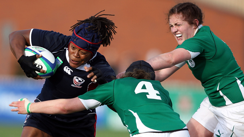 Rugby USA women's team Phaidra Knight
