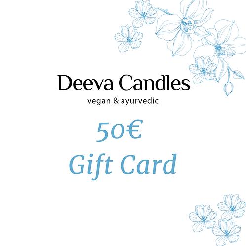E-Gift Card 50 Eur