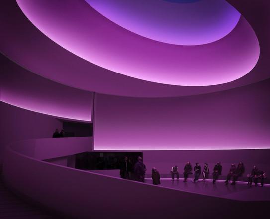 Instalación Guggenheim by James Turrel