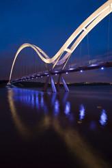 Infinity bridge, Speirs+ major.Stockton-on-Tees, Inglaterra