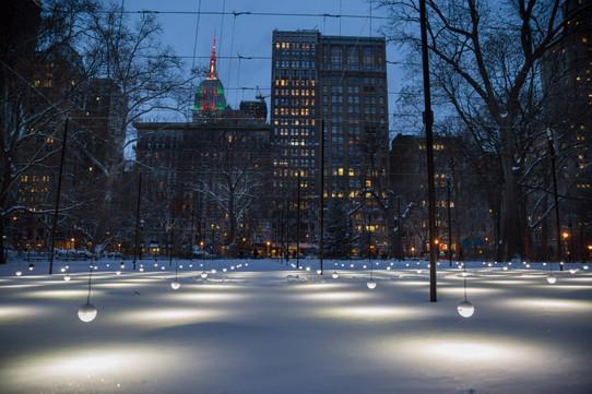 Instalacion Madison square park by Erwin Redl