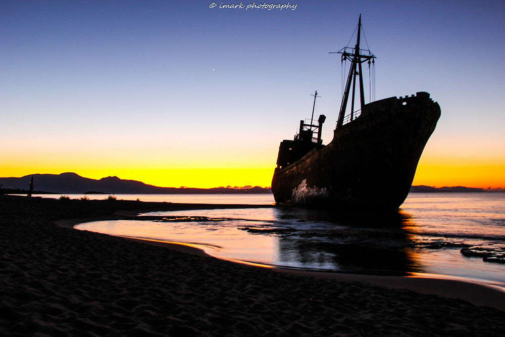 Dimitrios shipwreck-Gythion