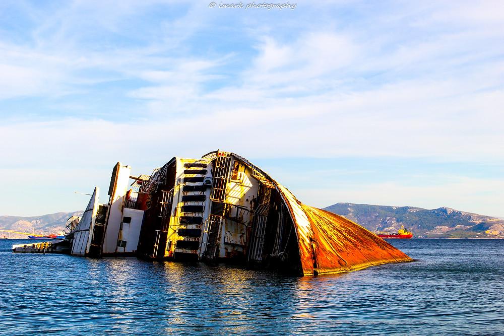 Mediterranean Sky Shipwreck
