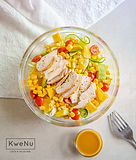 Chicken, Avocado,Corn. Lettuce, Cherry Tomatoes, Carrot