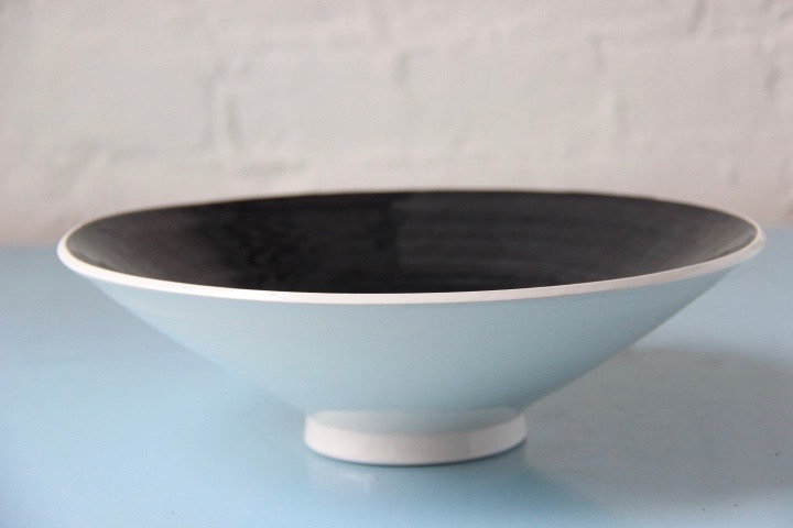 Flared Black Hole Bowl