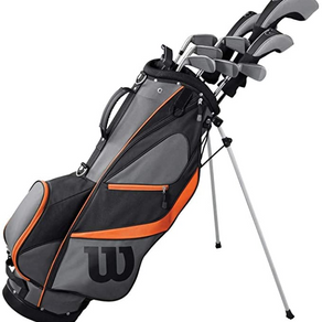 WILSON Golf 2019 Men's X31 Complete Graphite Shaft Package Set Stand Bag - Right Hand