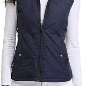 MISS MOLY Women's Lightweight Quilted Vest Jacket