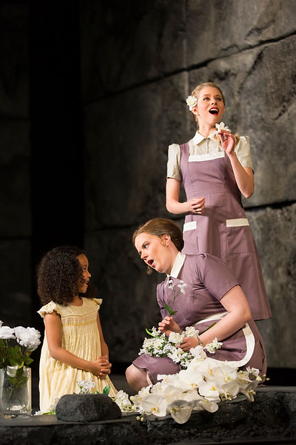 """Rape of Lucretia"" ""Wolf Trap Opera"""
