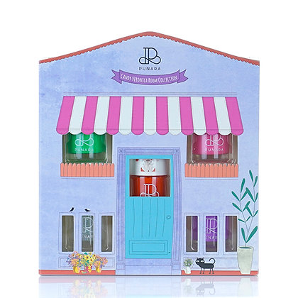 เซ็ตยาทาเล็บสูตรน้ำ Candy Veronica Room Collection