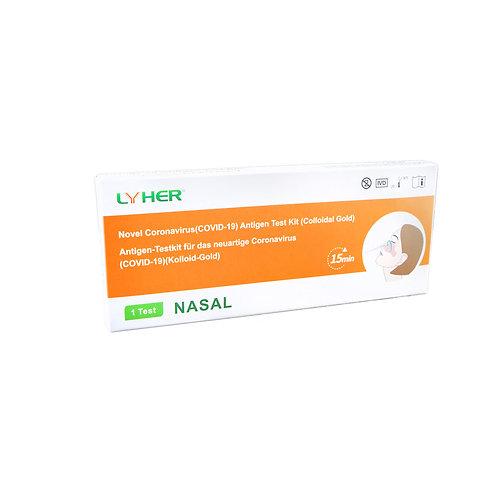 LYHER® Covid-19 Antigen Schnelltest (Nasal) – 1 Stk.