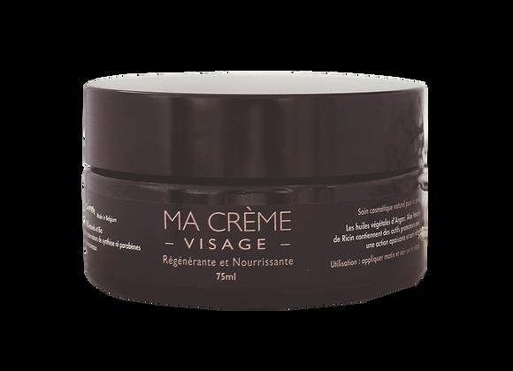 Crème visage masculine - Flora'ine