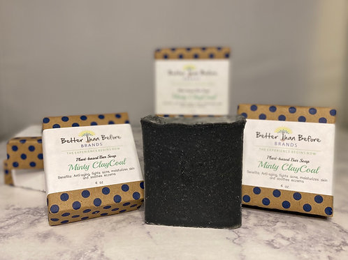 Minty ClayCoal Soap