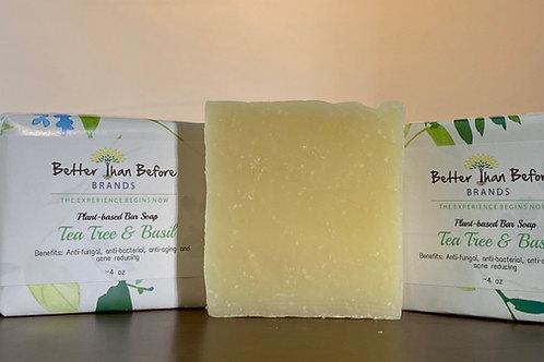 Tea Tree & Basil Bar Soap