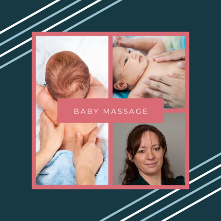 Baby Massage Sessions coming soon