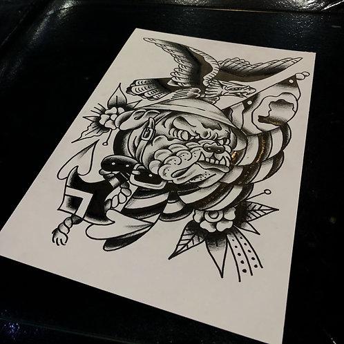 Eagle A4 size 011 OG