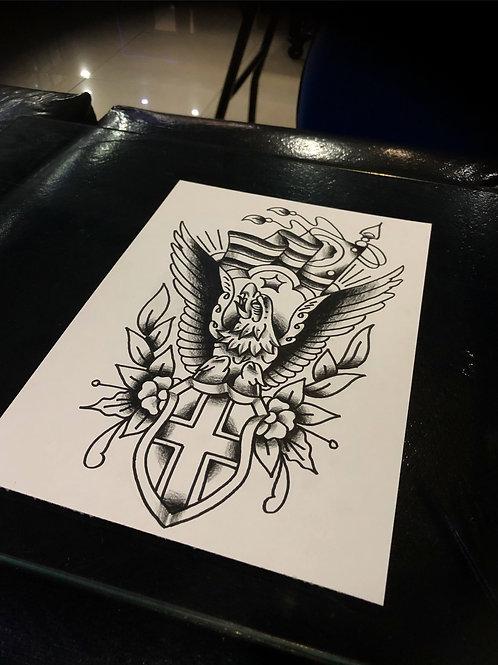 Eagle A4 size 013 OG