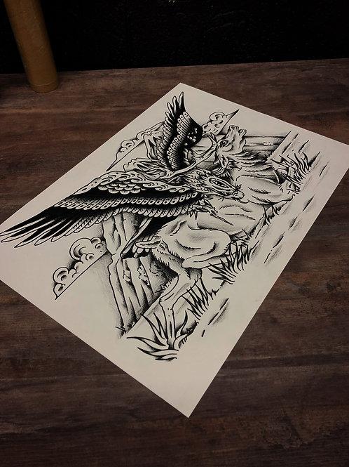 Eagle A3 size 002 OG