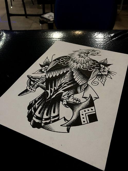 Eagle A4 size 008 OG