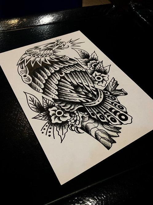 Eagle A4 size 005 OG