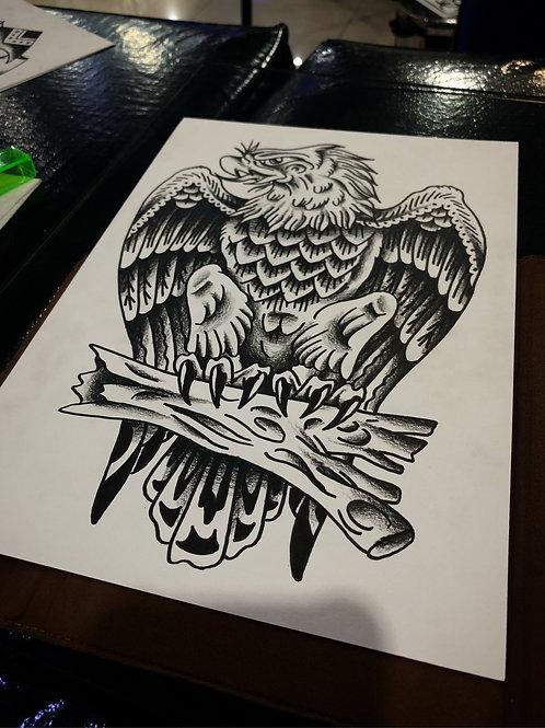 Eagle A4 size 004 OG