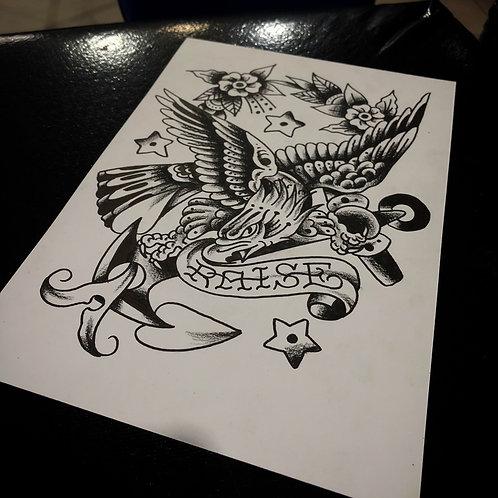 Eagle A4 size 001 OG