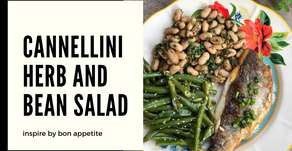 Cannellini bean and herb salad