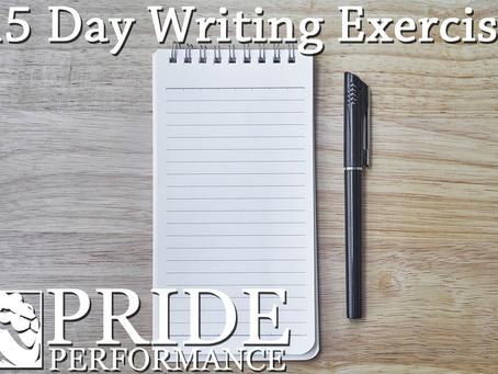 15 Day Writing Exercise