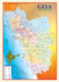 Tourist Map of Goa