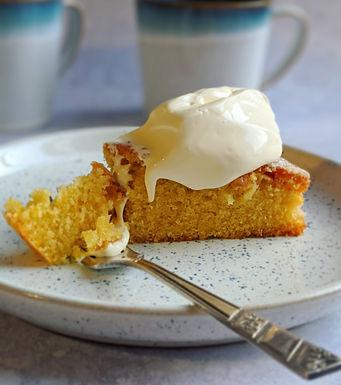 Always a hit orange and vanilla cake!