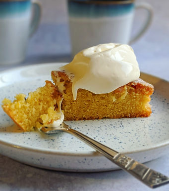 Always a hit orange and vanilla cake!