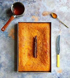 Portokalopita - The Greek orange syrup cake