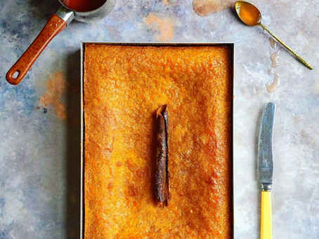 Portokalopita - The Greek orange syrup cake