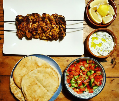 The ultimate Chicken Gyros