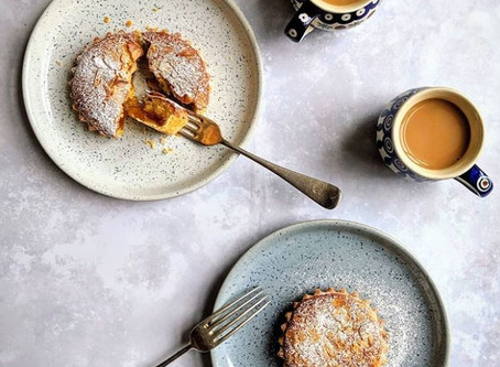The classic Bakewell tart.