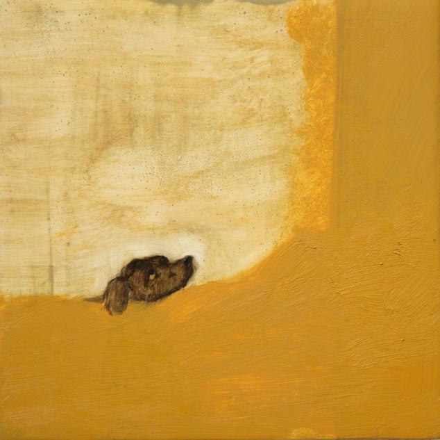 Goya's dog still sinking. 2102