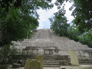 Tempio Serpente Calakmul