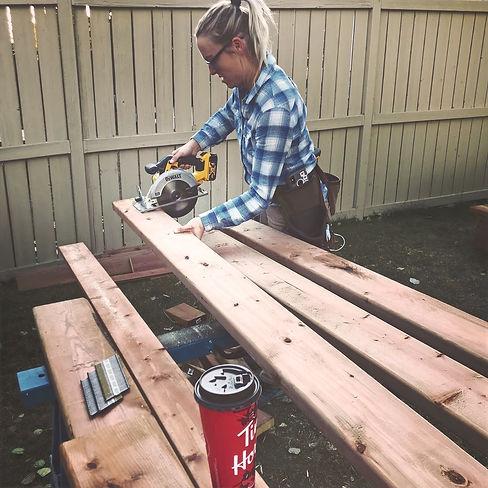 She Built Ltd Outdoor Carpentry Renovation