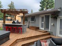 Custom Wood Deck Build