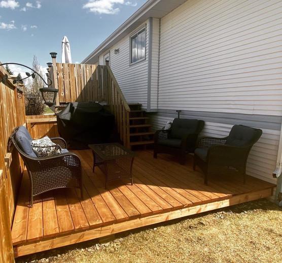 Custom Build/Install Floating Deck