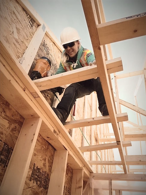Custom Woodworking Carpentry Framing Build